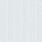 chevron ♥ slate blue and white