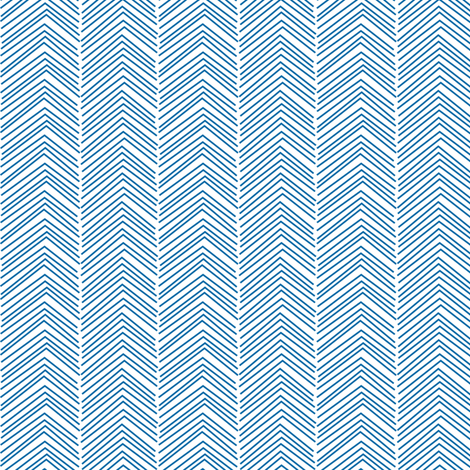 chevron ♥ blue and white