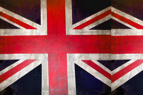 Rectangle UK Flag / Union Jack Print fabric by theartwerks on Spoonflower - custom fabric