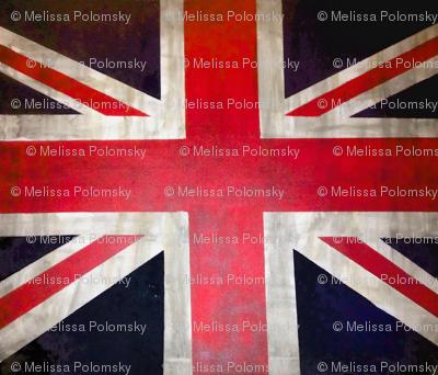 Rectangle UK Flag / Union Jack Print