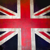 Rectangle UK Flag / Union Jack Print