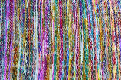 Colorful Sari Rug Print