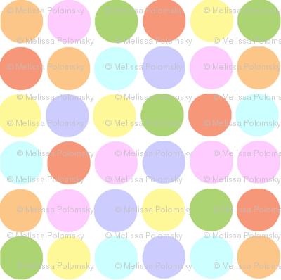 Circles in Pastels