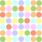 Circles in Pastels