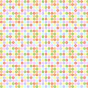 Small Print Circles in Pastels