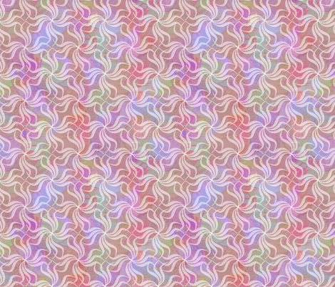 rosey_swirley_whirlies fabric by glimmericks on Spoonflower - custom fabric