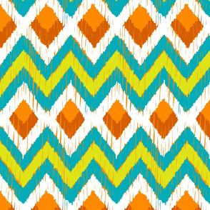 NATIVO - teal, lime, mandarin 