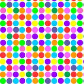 Small Print Circles in Rainbow Bright