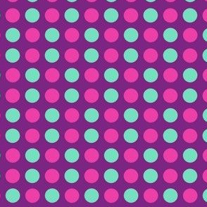 Polka Dots! - Baby Butterfly Purple - © PinkSodaPop 4ComputerHeaven.com