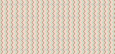 peach, mint, and brown chevron