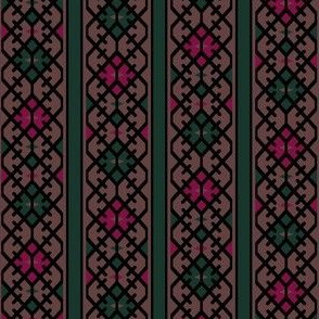 17th Century Kilim Border II.