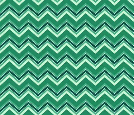 Chevron / emerald fabric by paragonstudios on Spoonflower - custom fabric