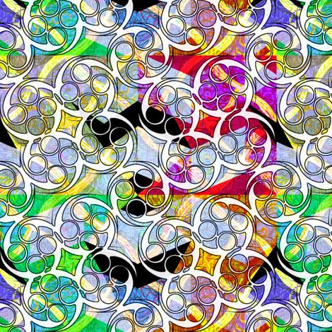 wild_diamonds_zigzag_w_swirliques fabric by glimmericks on Spoonflower - custom fabric