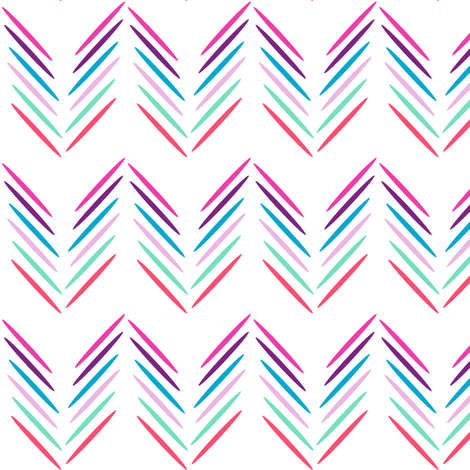 Organic Chevron Sticks! - Baby Butterfly Purple - © PinkSodaPop 4ComputerHeaven.com fabric by pinksodapop on Spoonflower - custom fabric