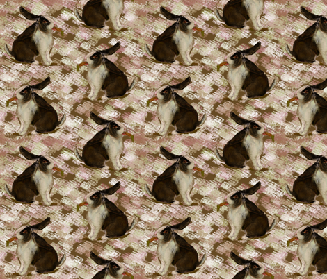 DutchLop Bunny fabric by eclectic_house on Spoonflower - custom fabric
