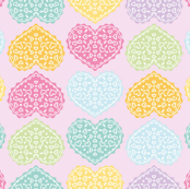 Heart Doily Design