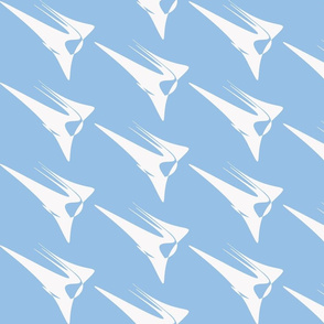 Wing On Light Blue