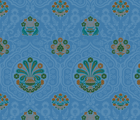 Damask VA4c fabric by muhlenkott on Spoonflower - custom fabric