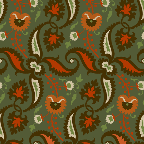 Rococo VA2b fabric by muhlenkott on Spoonflower - custom fabric