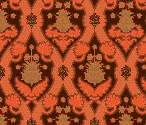 Serpentine 905a fabric by muhlenkott on Spoonflower - custom fabric