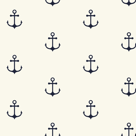 Anchor fabric by kimsa on Spoonflower - custom fabric