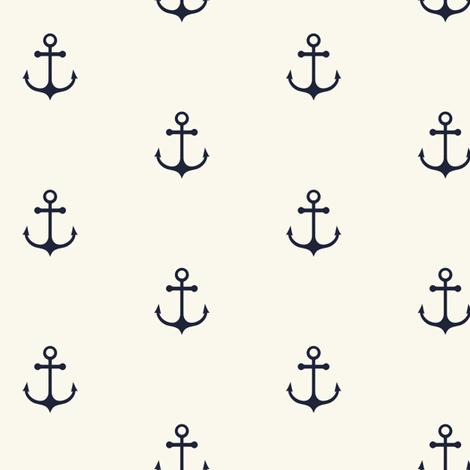Anchor fabric by kimsa on Spoonflower - custom fabric