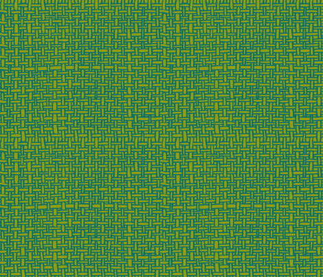 Green Weave fabric by candyjoyce on Spoonflower - custom fabric