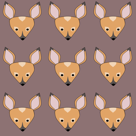 fortunate fawn fabric by hostetler on Spoonflower - custom fabric