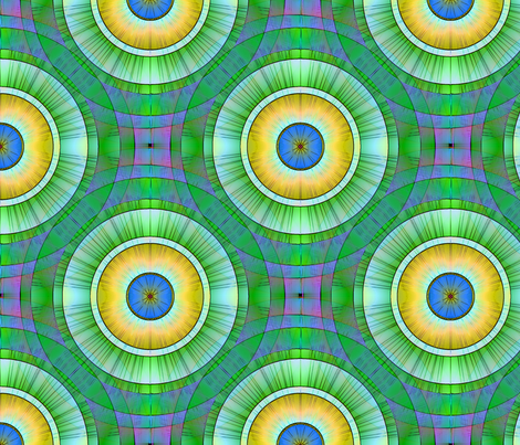 Tree Rings No3 fabric by dlhoward on Spoonflower - custom fabric