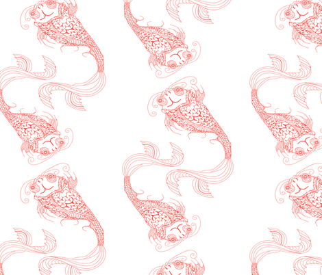 Fish fFabric fabric by hollyballs3 on Spoonflower - custom fabric