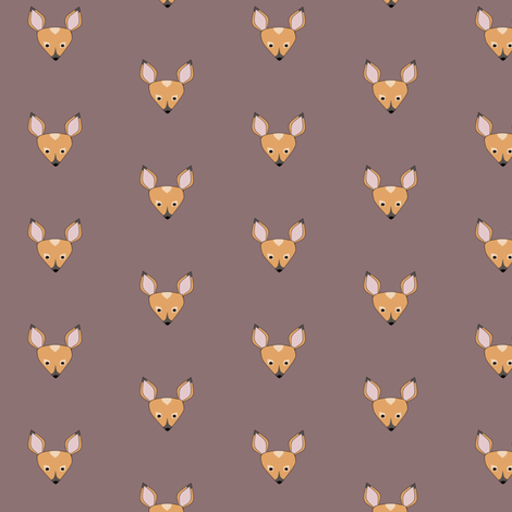 fortunate fawn small fabric by hostetler on Spoonflower - custom fabric