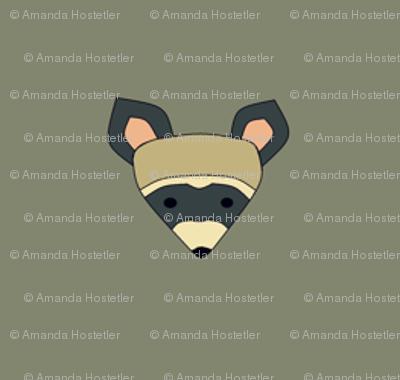 rambunctious raccoon small