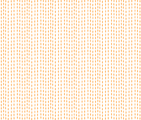 Threads, plain - orange