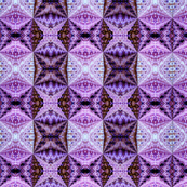 Shades of Purple Geometric Squares
