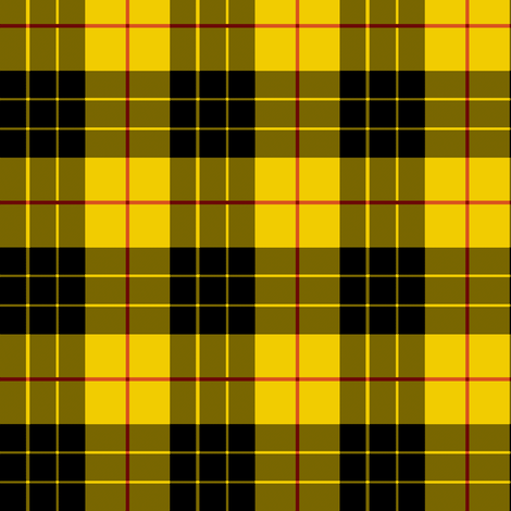 MacLeod Plaid ~ Wee fabric by peacoquettedesigns on Spoonflower - custom fabric