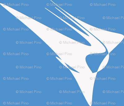 Wing On Light Blue