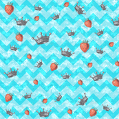 Crown Strawberry Chevron