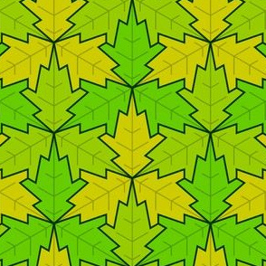leaf 3x3 spring / summer