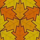 leaf 3x3 autumn / fall