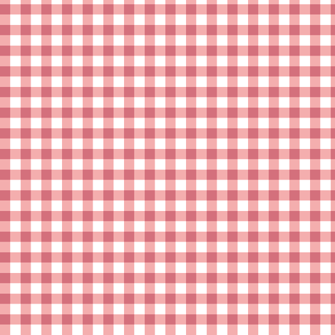 peach-pink gingham fabric by weavingmajor on Spoonflower - custom fabric