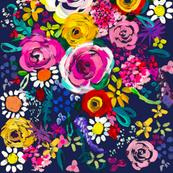 Les Fleurs // Navy