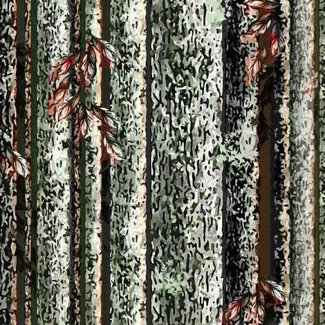 Tree Bark Camo fabric by joanmclemore on Spoonflower - custom fabric