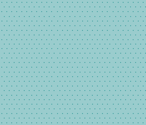 turquoise dots fabric by krs_expressions on Spoonflower - custom fabric