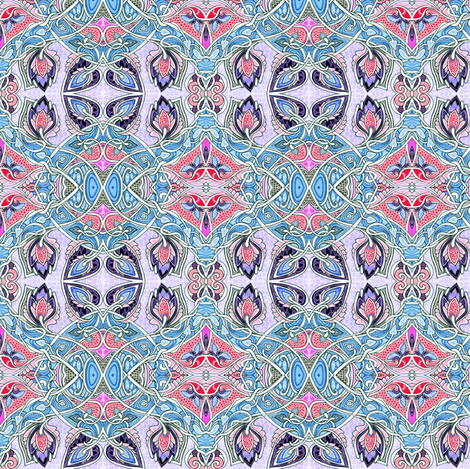 Let's Use the Fancy China Tonight fabric by edsel2084 on Spoonflower - custom fabric