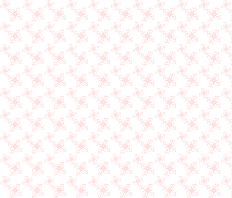simple pink flowers fabric by krs_expressions on Spoonflower - custom fabric