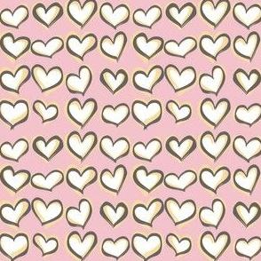 Hearts a Flutter Pink