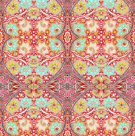 Mystical Warm Spring Magic  fabric by edsel2084 on Spoonflower - custom fabric