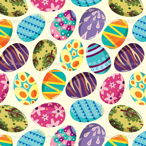 Easter eggs fabric by crafts51432 on Spoonflower - custom fabric