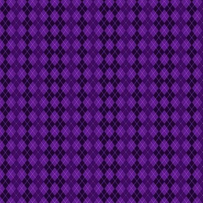 Purple Argyle