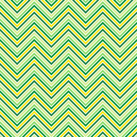 Mini Chevron Striped! - Luck Be With You - © PinkSodaPop 4ComputerHeaven.com fabric by pinksodapop on Spoonflower - custom fabric